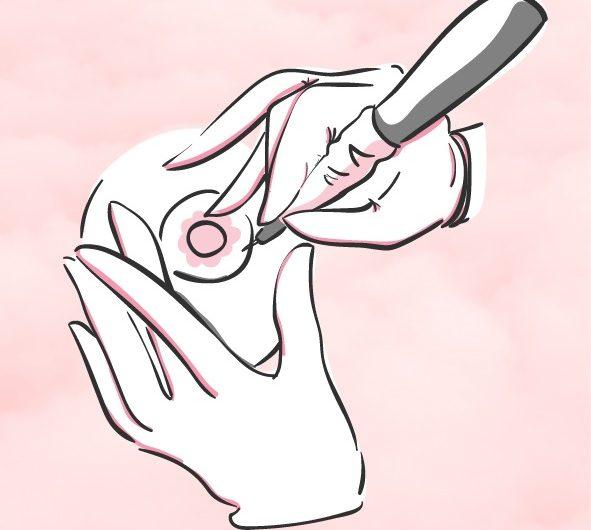 Vencer con tinta al cáncer de mama