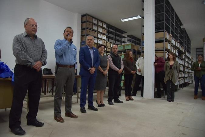 Inauguran archivo municipal en Jesús María