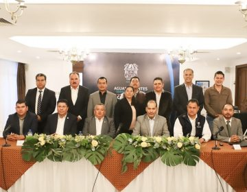 Sostiene gobernador de Aguascalientes primer reunión con nuevos alcaldes