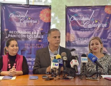 """Presentan festival """"De chicahual a calavera"""" en Jesús María"""