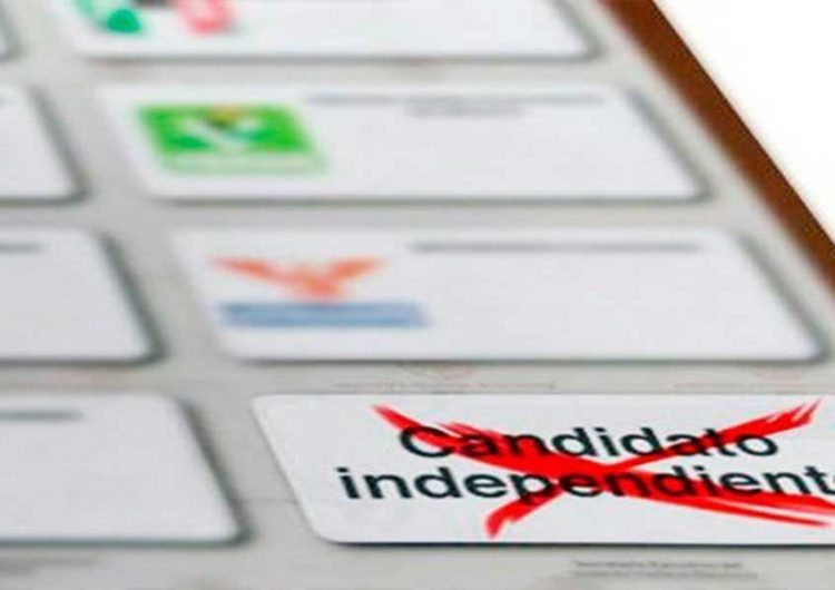 IEE pide quitar candados para candidaturas independientes