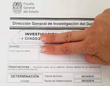 Por intento de secuestro y acoso fueron denunciados conductores de UBER y Didi en Aguascalientes