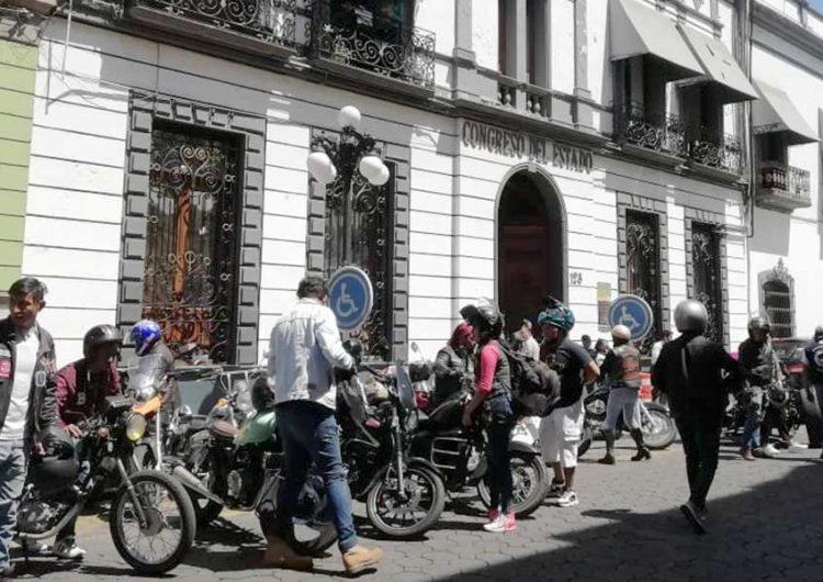 Motociclistas piden que no se les criminalice
