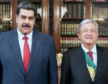 Maduro enaltece a AMLO en medio de tensión con El Salvador