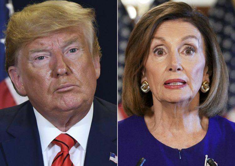 Trump asegura que Nancy Pelosi no aprobará el acuerdo comercial entre Estados Unidos, Canadá y México