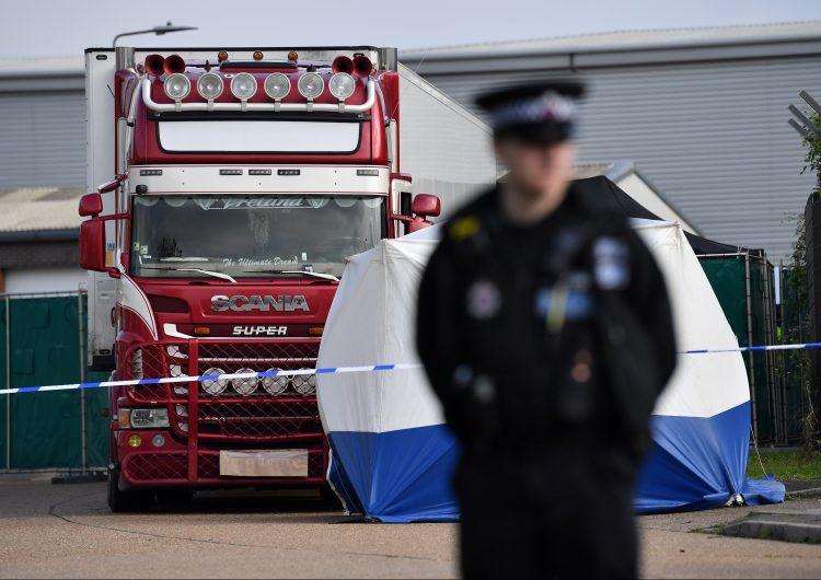Las 39 personas que murieron en un camión en el Reino Unido eran vietnamitas