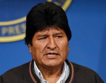 Evo Morales renuncia tras exigencia del Ejército para que dejara el cargo