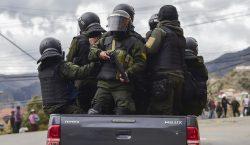 Las Fuerzas Armadas y la policía operan en conjunto para…