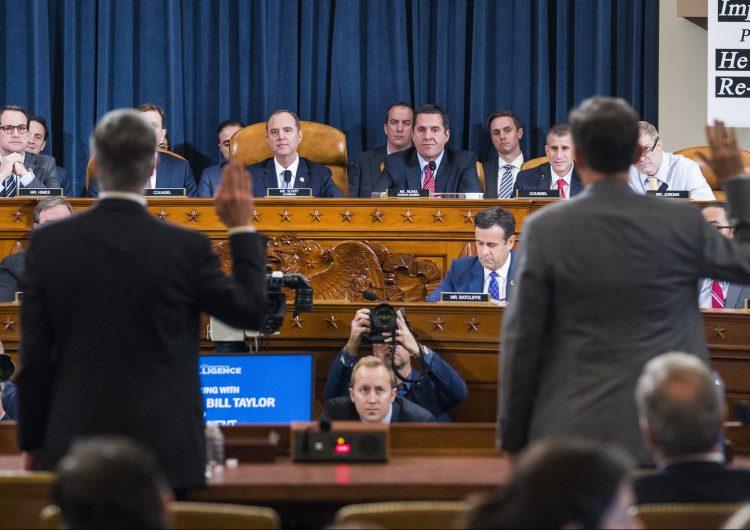 juicio político-impeachment-donald trump-ucrania-audiencias públicas
