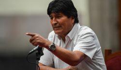 """Gobierno interino de Bolivia denuncia a Evo Morales por """"sedición…"""
