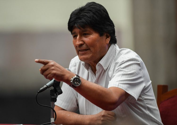 """Gobierno interino de Bolivia denuncia a Evo Morales por """"sedición y terrorismo"""""""