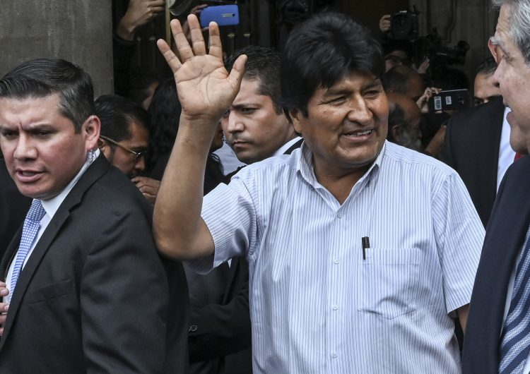 México-Bolivia-crisis-asilo político-exilio-Evo Morales