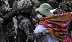 Muere joven durante protestas en Bolivia; suman 10 en cuatro…