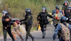 Nueve muertos durante protesta en Bolivia; CIDH condena uso de…