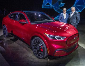 Ford presenta Mustang Mach-E, su primer vehículo eléctrico