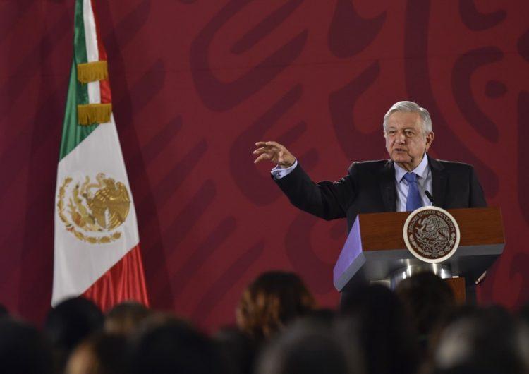 México no permitirá que extranjeros armados actúen en su territorio, advierte AMLO a Trump