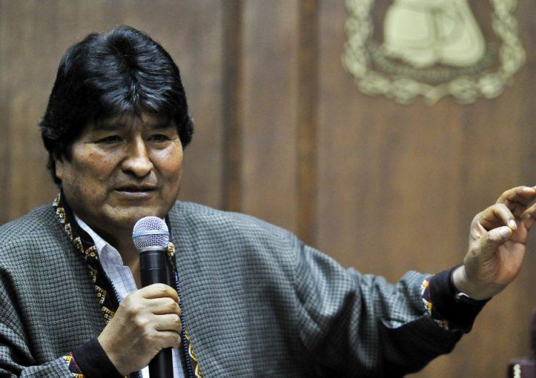 Evo Morales deja Campo Marte y solicita ayuda para su manutención en México