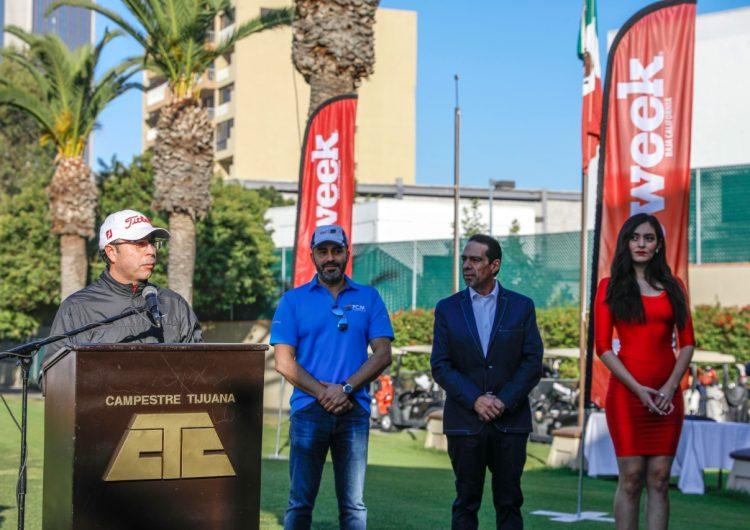 """La condición Santa Ana le dio un respiro a Tijuana el pasado viernes, y permitió la realización del """"XXI torneo de golf Newsweek-Deitac Invitational"""""""