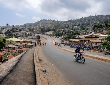 Freetown, Sierra Leona: levantarse de las cenizas