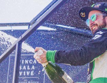 Hugo Oliveras, en el top tres de la Súper Copa Mercedes Benz