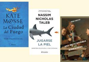 Tres recomendaciones literarias: novela, ciencia, historia…