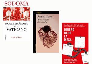 Tres obras literarias que sacuden conciencias