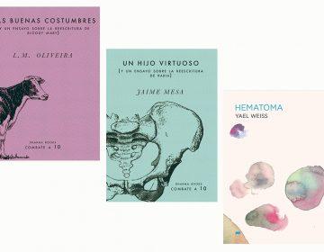 Tres libros: literatura que explora el interior del ser humano