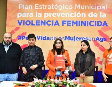 Presentan plan estratégico para prevenir la violencia contra las mujeres en Aguascalientes