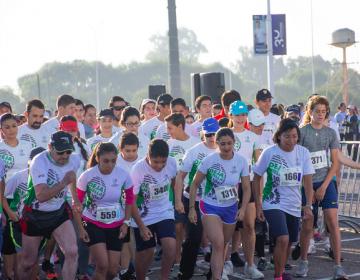 Se realizó la 1er Carrera Atlética de la Universidad Panamericana en Aguascalientes