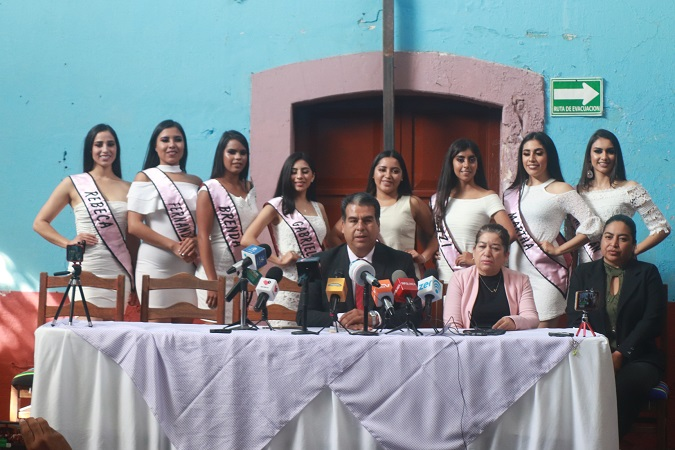 Presentan programa de la Feria de la Revolución en Pabellón de Arteaga