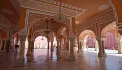 El histórico Palacio de la Ciudad de Jaipur, en India,…