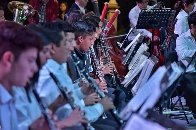 Cerró Orquesta Sinfónica Infantil de Jesús María eventos de Día de Muertos