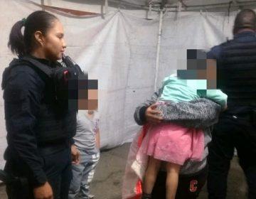 Localizan a niña de 3 años extraviada en Pabellón de Arteaga