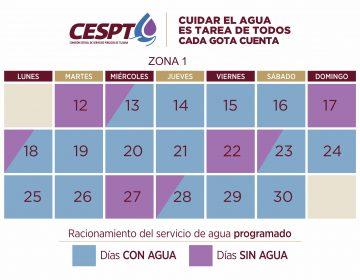 Estas son las primeras 182 colonias que no tendrán agua en Tijuana y Rosarito