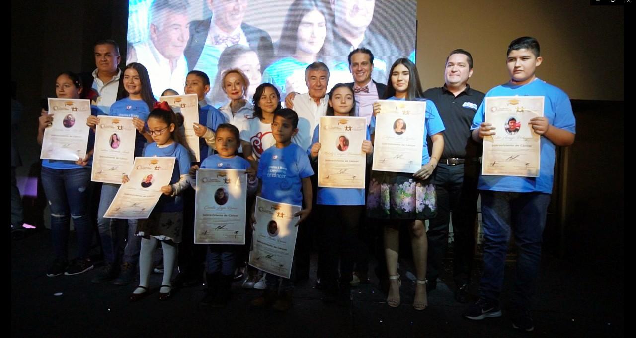 Pacientes de Fundación Castro Limón celebraron su victoria sobre el cáncer infantil - Noticias