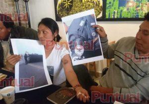 Guardia Nacional usó balas de goma contra pobladores de Juan C. Bonilla
