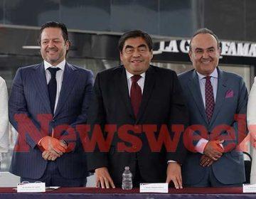 """Gobernador de Puebla inaugura """"Paseo Destino"""""""