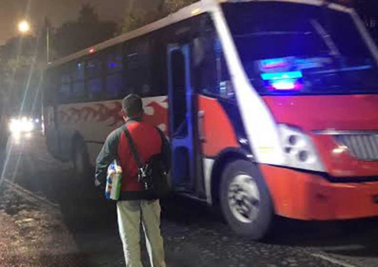 Viable servicio nocturno de transporte, pero debe ser seguro: Canaco