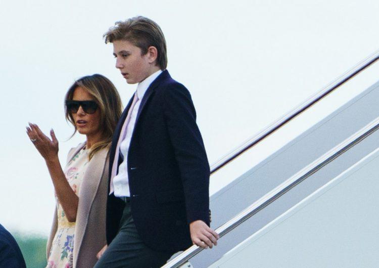 Melania Trump critica a académica por mencionar a su hijo Barron durante audiencia ante el Congreso