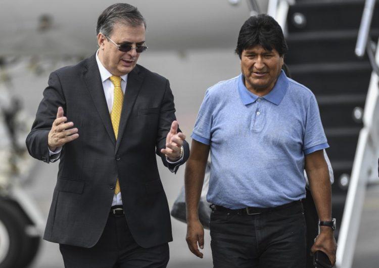 México reclamará ante Corte Internacional de Justicia la vigilancia contra su embajada en Bolivia