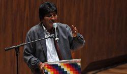 Evo Morales sale de México; vuela a Cuba en un…