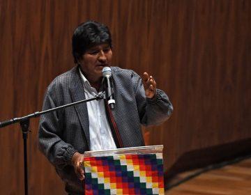 """Evo Morales sale de México; vuela a Cuba  en un """"viaje temporal"""""""