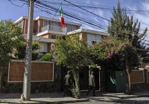 México denuncia intimidaciones y vigilancia excesiva hacia su embajada en Bolivia