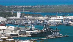 Tiroteo en la base de PearlHarbour, Hawái, deja varios heridos;…