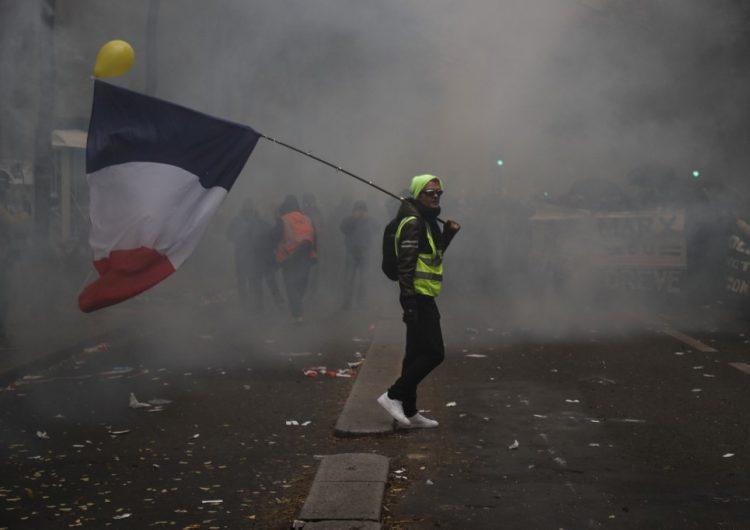 Segundo día de huelga en Francia contra la reforma del sistema de pensiones de Macron