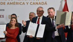 Los gobiernos de EU, México y Canadá concretan nuevo acuerdo…