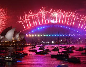 En Fotos: Sídney comenzó las celebraciones de Año Nuevo en el mundo