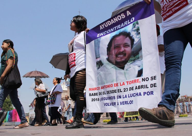 Avanza creación de comisión de búsqueda de personas en Aguascalientes