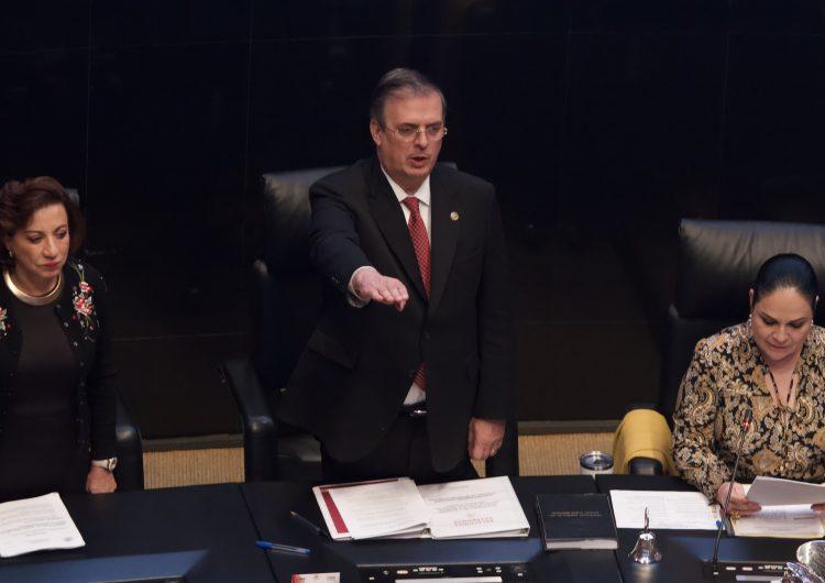 Si EU quiere respaldar a México en contra de la delincuencia que reduzca el tráfico de armas: Ebrard