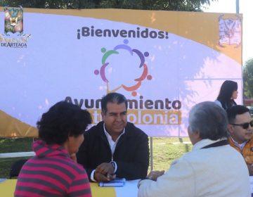 Brindan dependencias de Pabellón de Arteaga atención en comunidades rurales